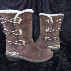 UGG Shoes - UGG dark brown boots 8M